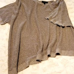 Gold sparkly sweater